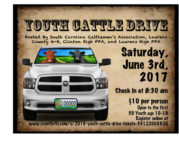 2nd Annual Youth Cattle Drive Registration Open