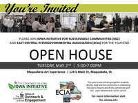 Iowa Initiative for Sustainable Communities Year-End Open House with ECIA