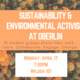 Sustainability & Environmental Activism at Oberlin: Student Organizing