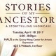 Stories of My Ancestors: A Storytelling Showcase