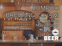 Lompoc Brewing 5k Fun Run