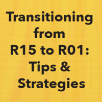 Transitioning from R15 to R01:  Tips & Strategies