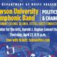 TU Symphonic Band | Politics and Change