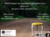 SHSU Student Art Association Art Auction