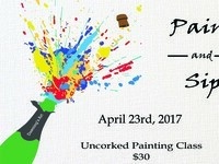 Paint and Sip: Uncorked Painting