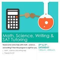 SAT, Math, Science and Writing Tutoring