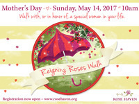 Reigning Roses Walk 2017