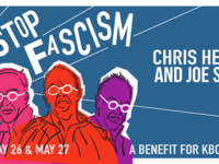 Stop Fascism: Chris Hedges & Joe Sacco Talk About Resistance. A benefit for KBOO Community Radio.