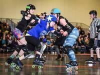 Storm City Roller Girls Battle Eastern Washington's Chaos Theory