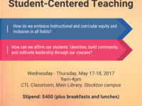 Student-Centered Teaching Workshop