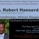 Robert Hanserd: Critical Issues in Cultural Studies