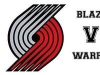 Blazers vs Warriors