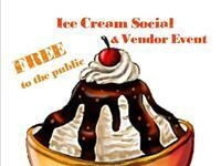 Ice Cream Social and Vendor Event
