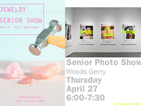 Photography / Jewelry Senior Exhibition