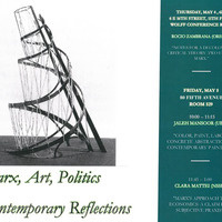 Marx, Art, Politics, Contemporary Reflections
