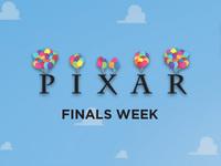 Pixar Finals Week: Pixar Play-Doh and Legos
