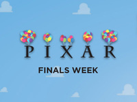 Pixar Finals Week: Inside Out Crafting and Coloring