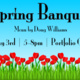 Spring Banquet at the Portfolio Cafe