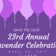 23rd Annual Lavender Celebration