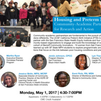 Housing and Preterm Birth: Community-Academic Partnership for Research and Action