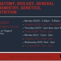 SSS-STEM: Anatomy, Biological Science, Nutrition, Genetics