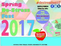 Spring De-Stress Fest 2017