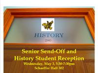 Hawkeye History Corps Senior Send-Off