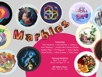 Illustration Senior Show: Marbles