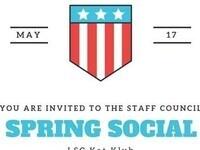 Staff Council Spring Social