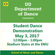 UO Dance Demonstration