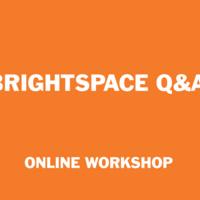 Brightspace Q & A (online)