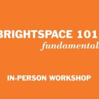 Brightspace 101: Fundamentals