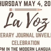 La Voz Literary Journal Unveiling Celebration