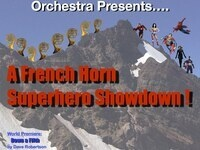 Northwest Horn Orchestra Superhero Showdown