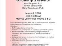Skills for Educators Workshop: Scholarship & Research