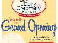 UDairy Creamery block party in Wilmington