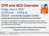 CPR and AED Overview