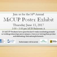 MiCUP Poster Exhibit