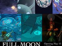 Illustration Senior Show: Full Moon