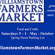 Williamstown Farmers Market Opening Day
