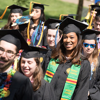 Goucher College Class of 2017 Commencement