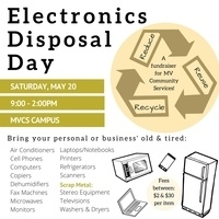Spring Electronics Disposal Day