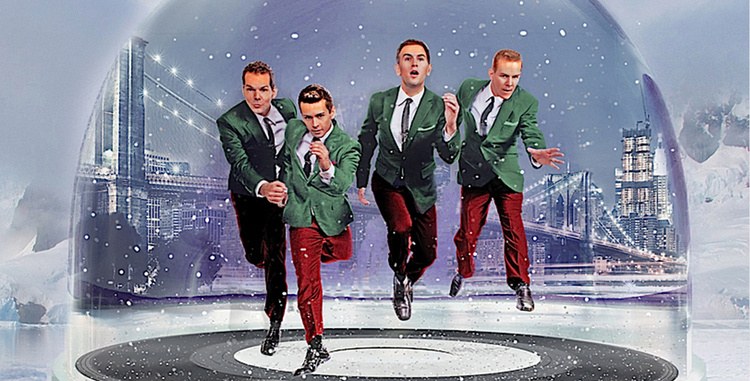midtown men stars from the original cast of jersey boys holiday hits - Boys To Men Christmas