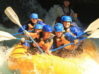 Rafting and Yoga