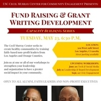 Cecil Murray Center Capacity Building Series: Fund Raising and Grant Writing Development