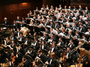 College Choir and Musical Union conducted by Gregory Ristow '01