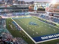 GSU Football Inaugural Game in the New Stadium!