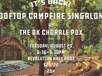 Rooftop Campfire Singalong with The OK Chorale PDX