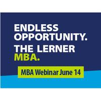 Lerner MBA Webinar