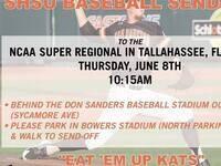 SHSU Baseball Send-Off